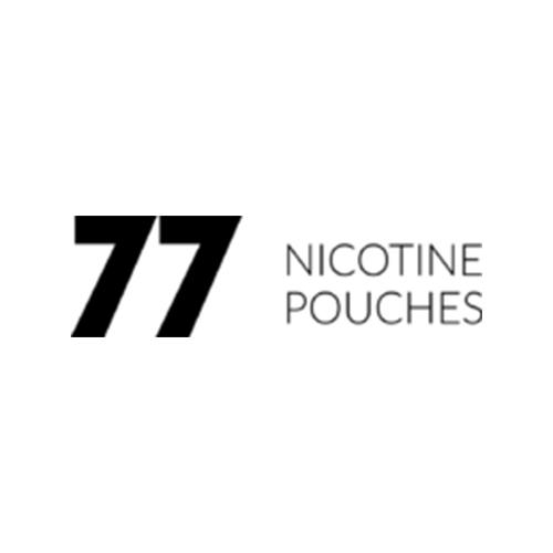 77 Nicotine Pouches Logo
